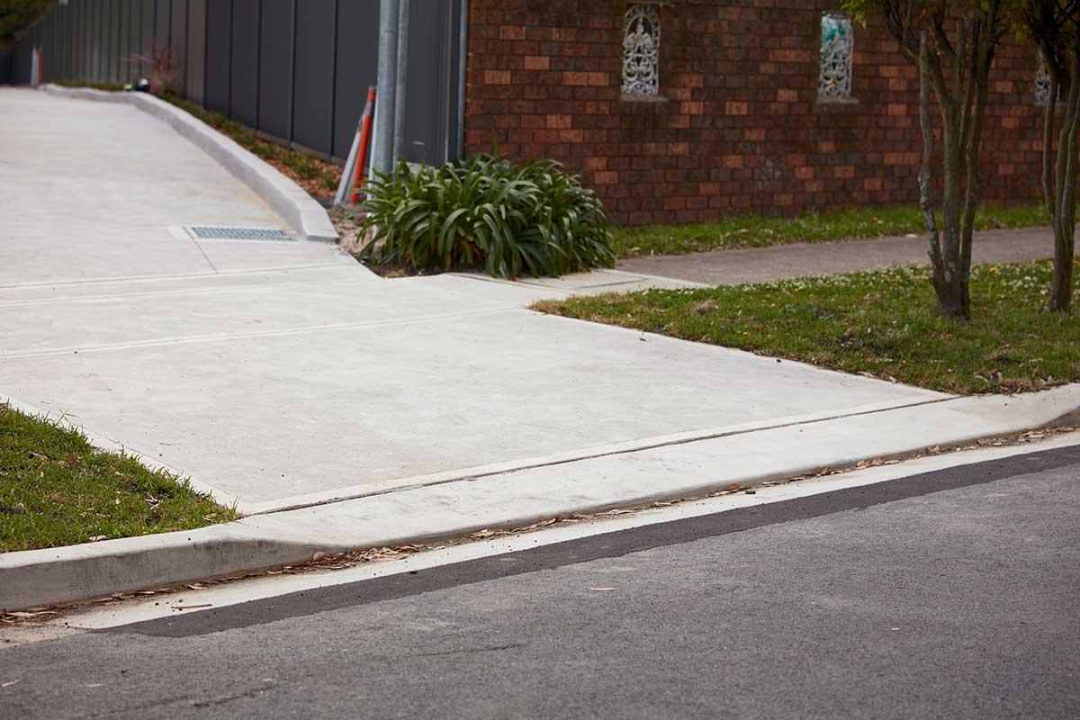 Spencer Asphalting, Concrete driveway, Sydney